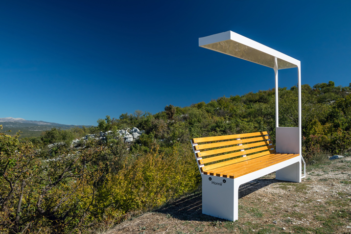 solar new bench ebaike